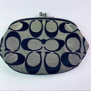 Coach Bags - Coach Signature Coin Purse, EUC